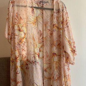 Other - Sheer Summer calf length kimono